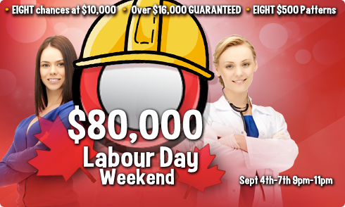 $80,000 Labor Day Weekend