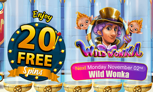Enjoy 20 FREE Spins